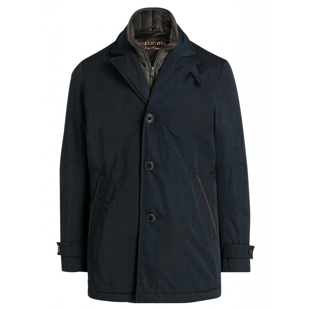 Milestone Britty – štýlová pánska zimná bunda s jemnými doplnkami
