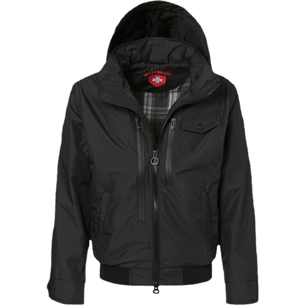 WELLENSTEYN Patrol - prechodná čierna pánska bunda
