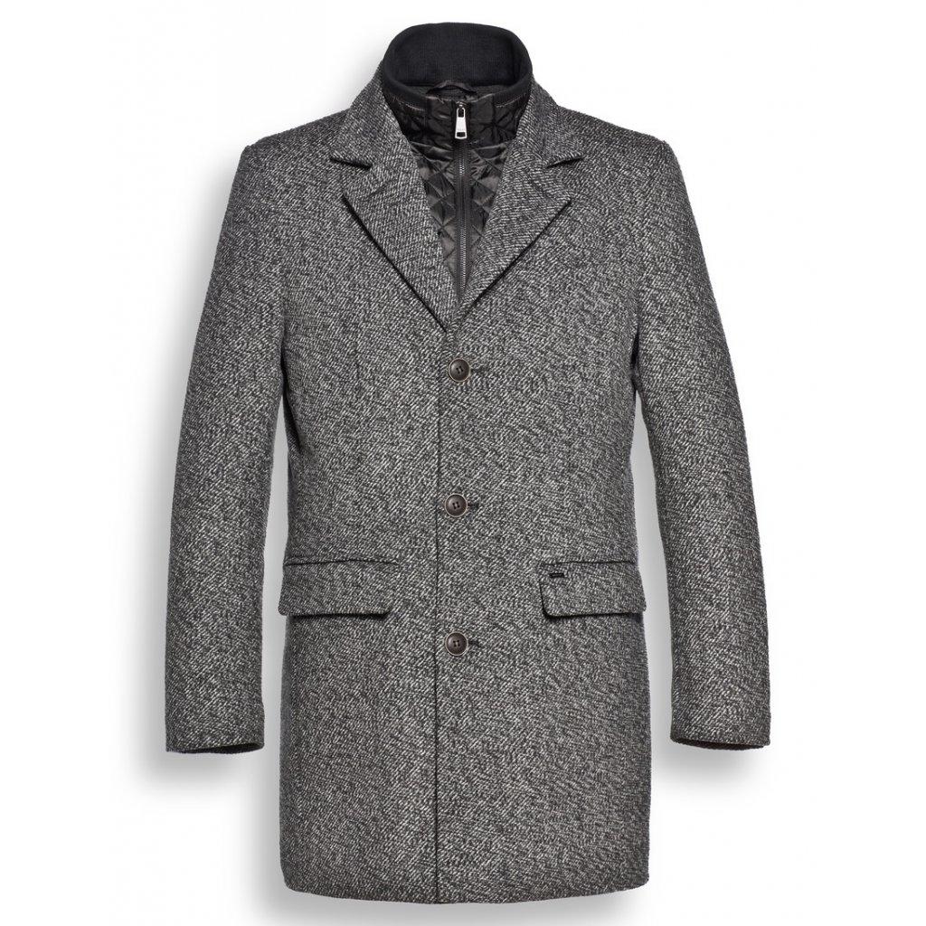 Nadčasovo elegantný pánsky kabát Reset Boucher