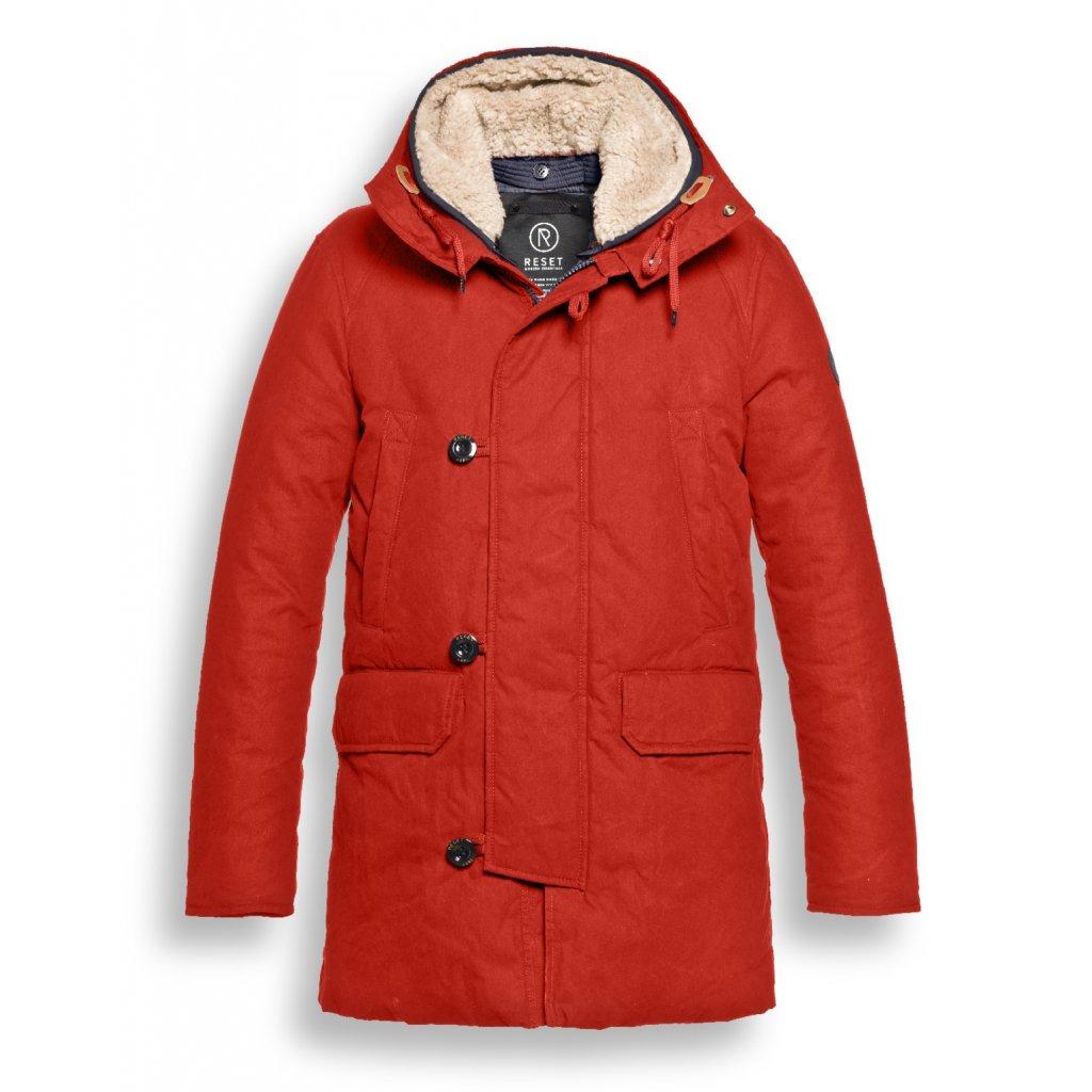 Originálna žiarivo červená pánska bunda RESET