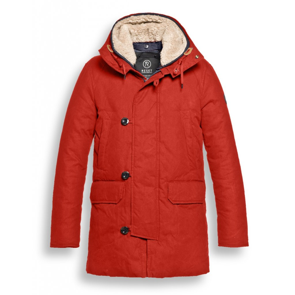 Pánska červená zimná bunda RESET