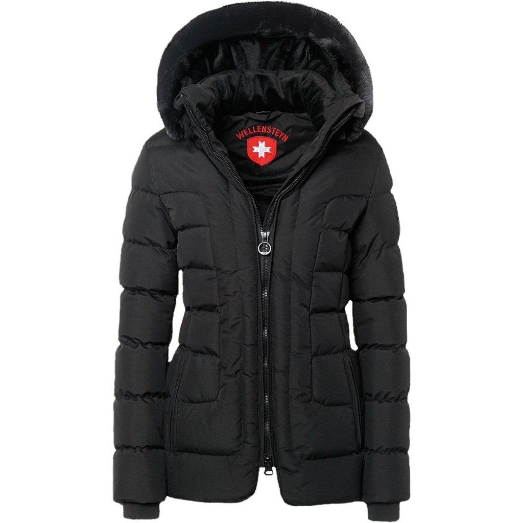 WELLENSTEYN Belvitesse Medium dámska ľahká čierna zimná bunda