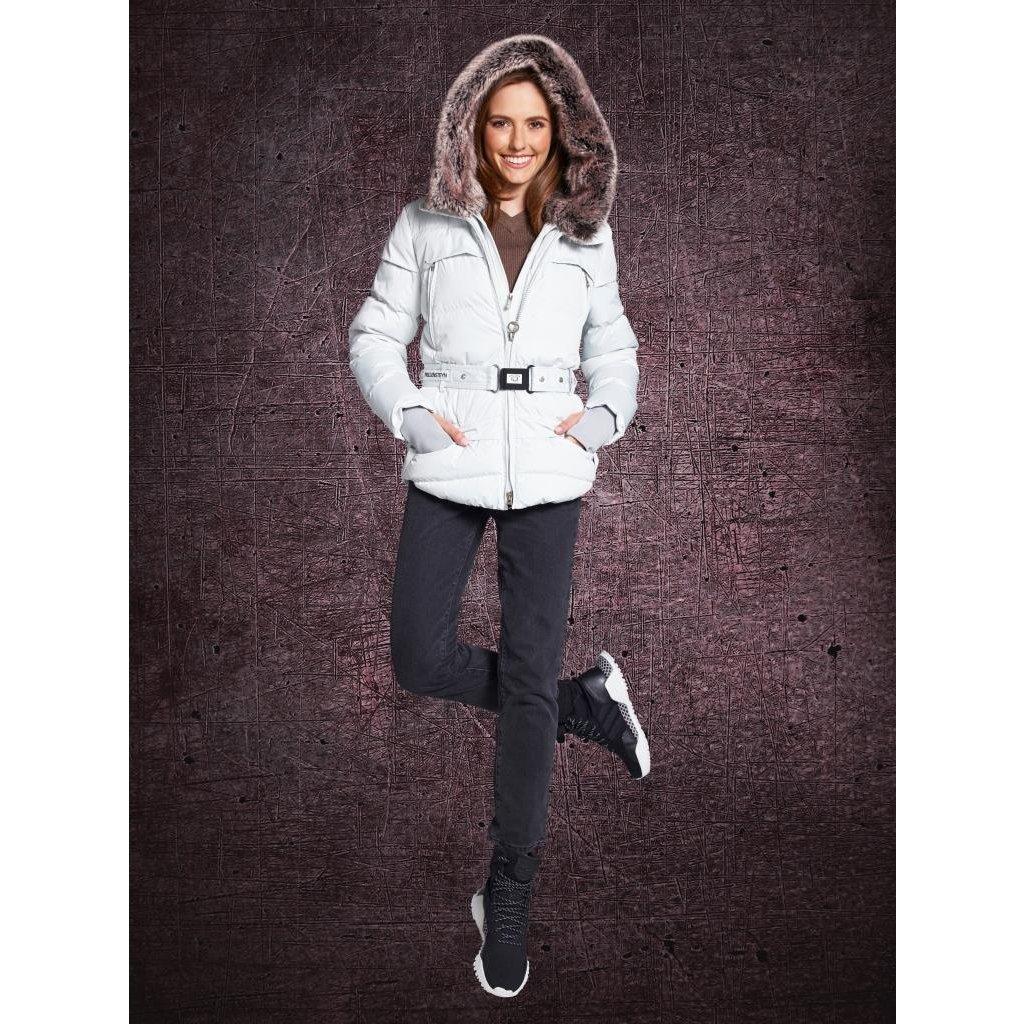WELLENSTEYN Tivana luxusná funkčná zimná biela bunda