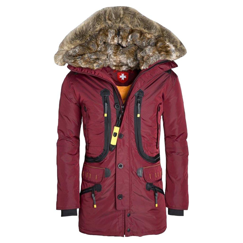 Wellensteyn Seewolf –  pánska zimná funkčná páperová bunda s moderným vzhľadom a mohutnou kapucňou