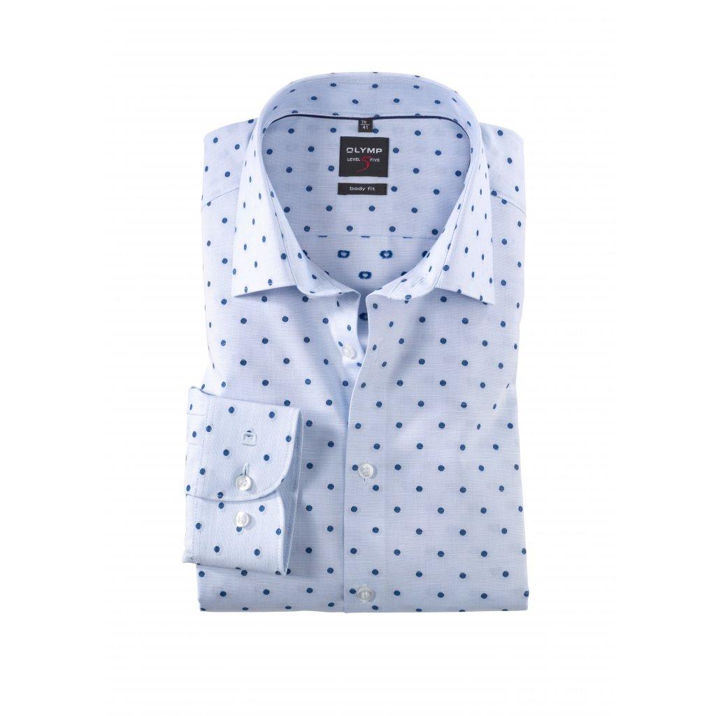 Košeľa s bodkami OLYMP