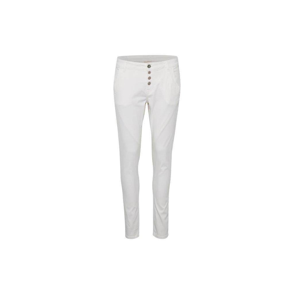 Štýlové biele dámske nohavice CREAM