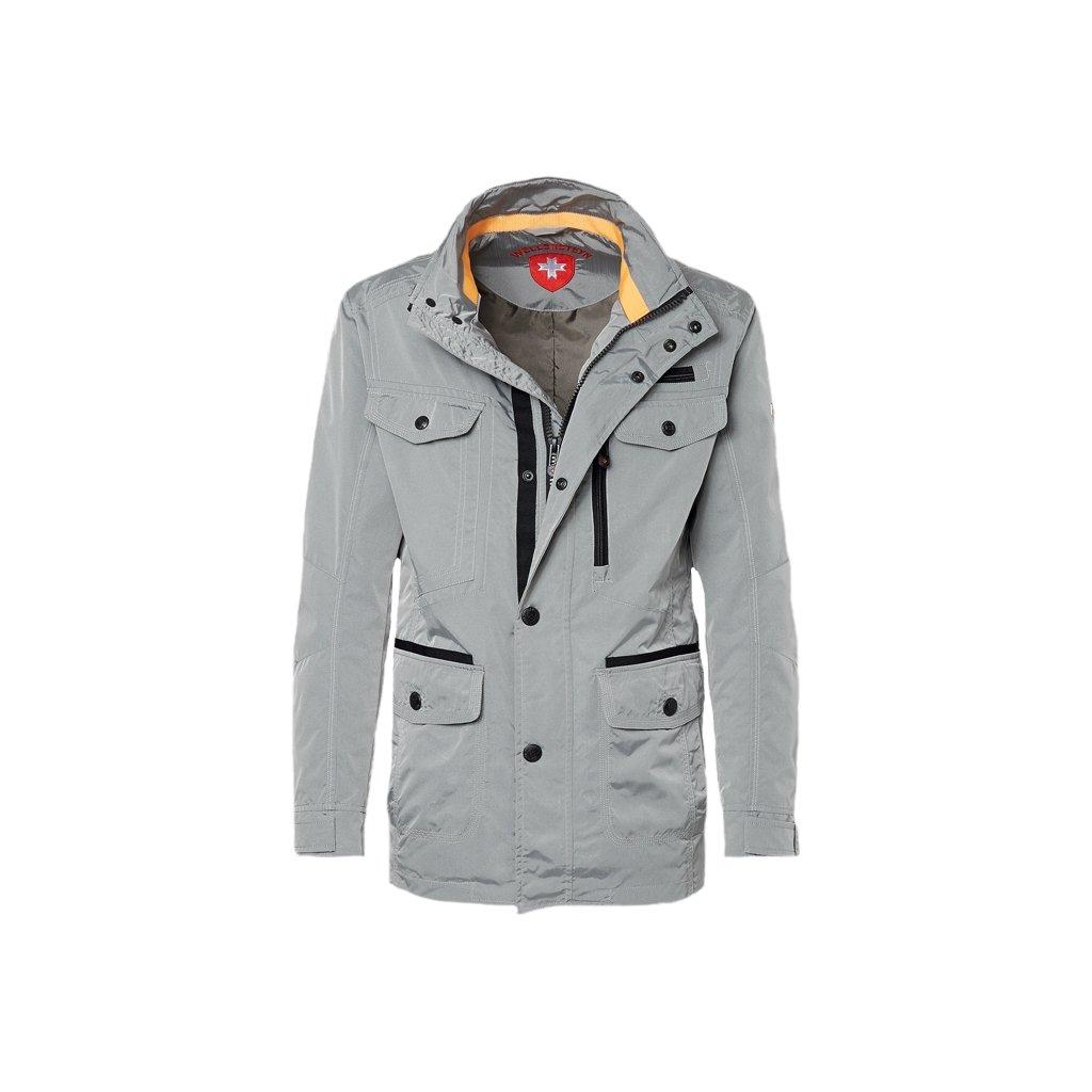 Wellensteyn Chester - nestarnúca sivá športovo elegantná prechodná bunda