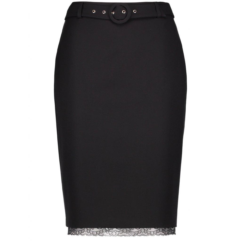 Čierna dámska sukňa GERRY WEBER