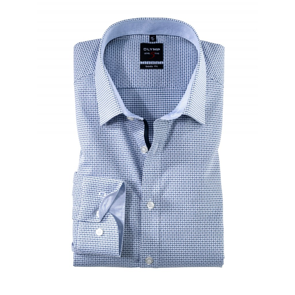 Modrá košeľa OLYMP