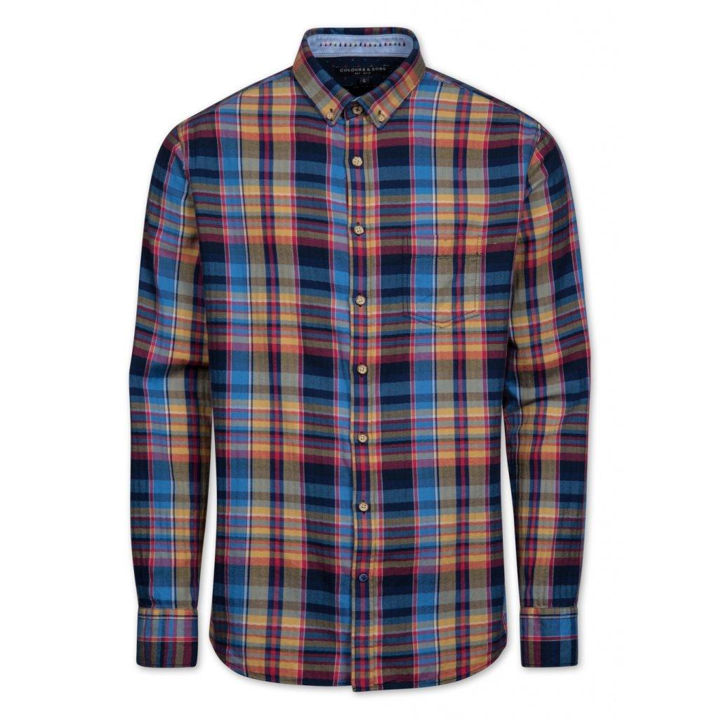 Fialová košeľa COLOURS&SONS, slim