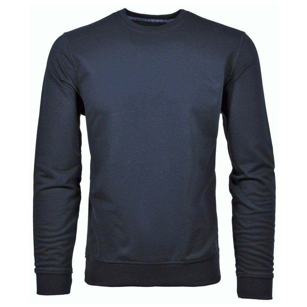 Pánske tričko modré RAGMAN dlhý rukáv