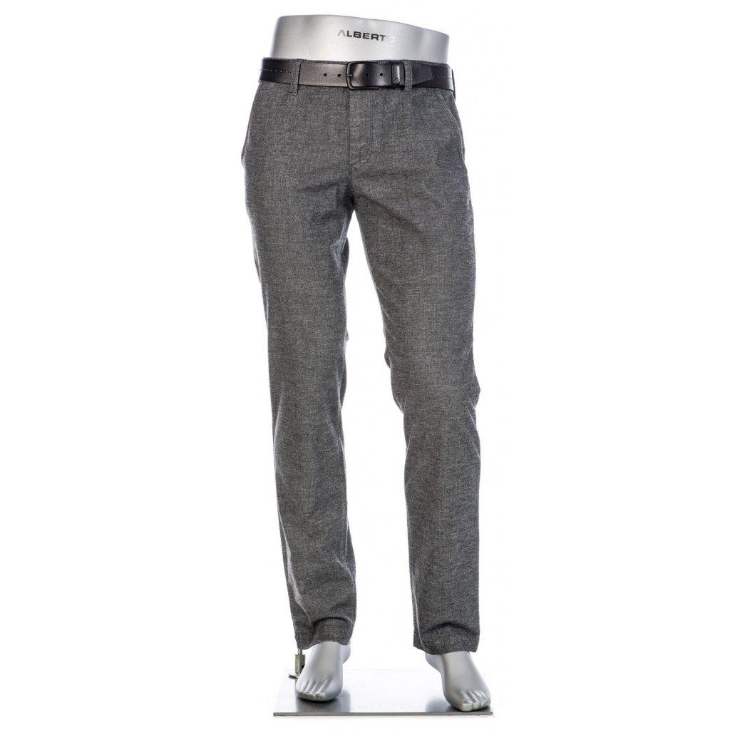 Retro pánske sivé nohavice ALBERTO