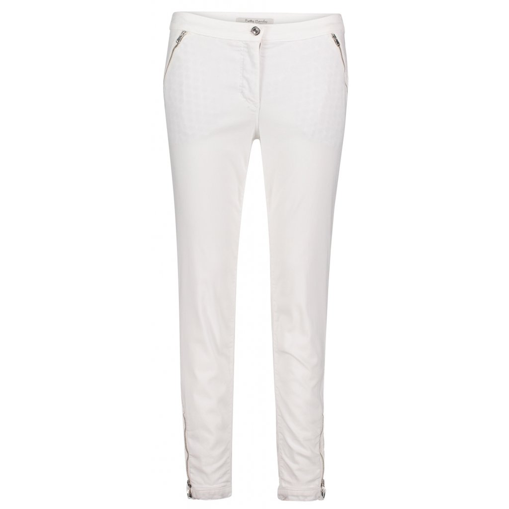 Dámske nohavice biele BETTY BARCLAY