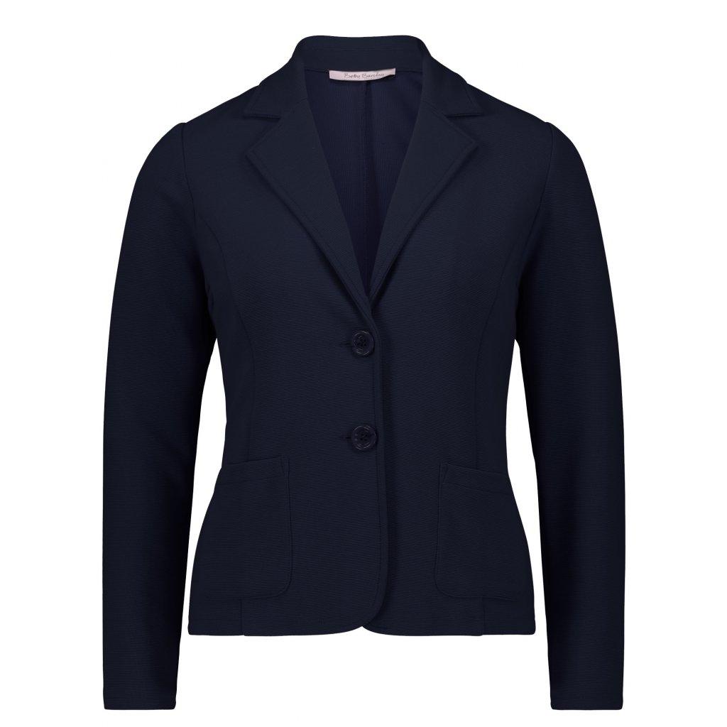 Značkové dámske sako modré BETTY BARCLAY