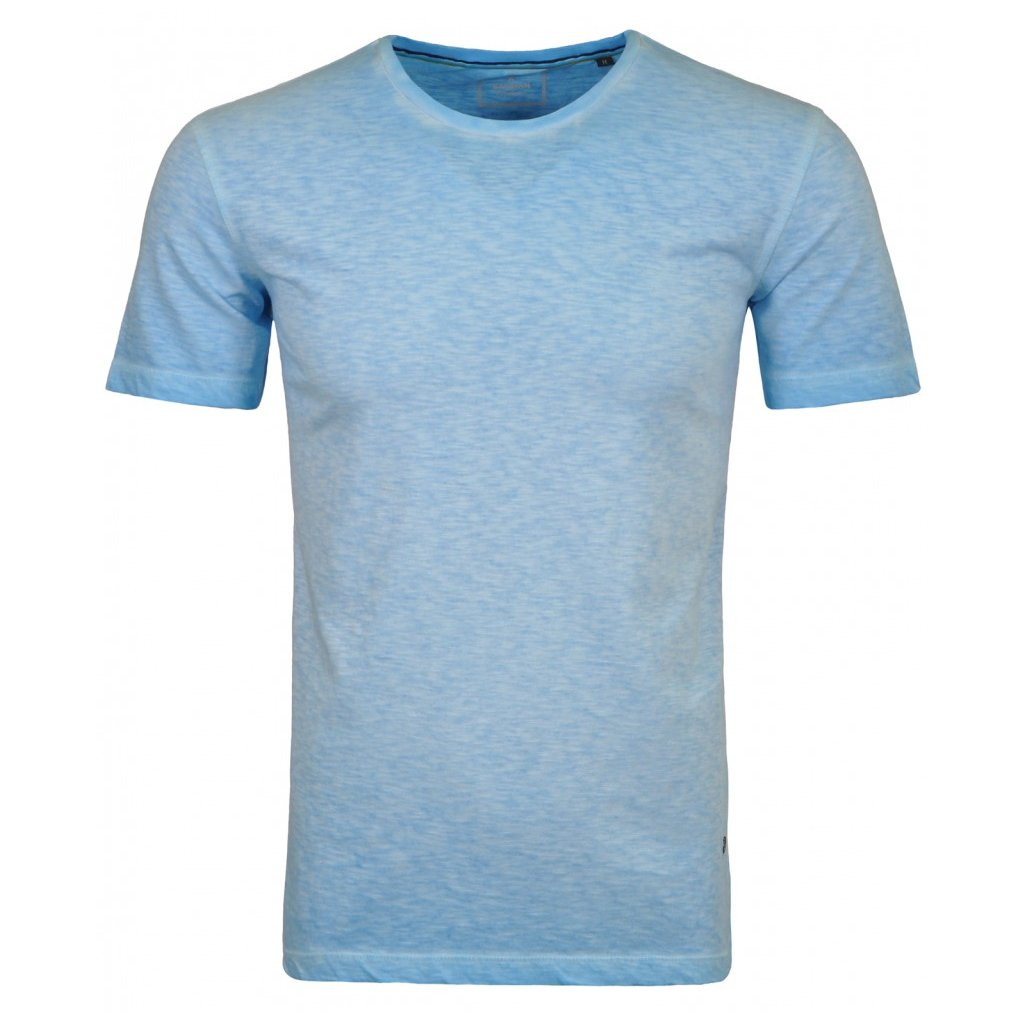 Modré pánske tričko s krátkym rukávom RAGMAN