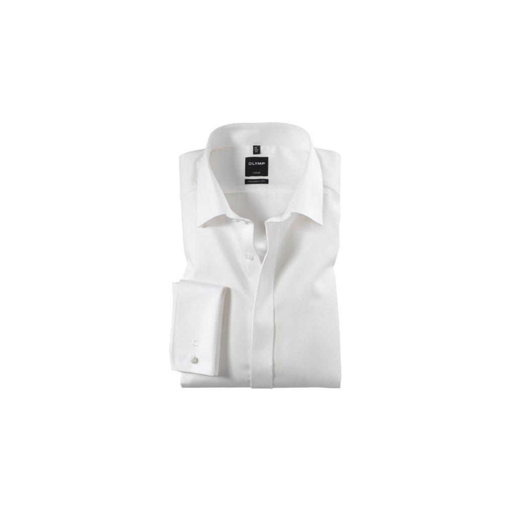 Luxusná smotanová košeľa OLYMP so skrytou légou, modern fit