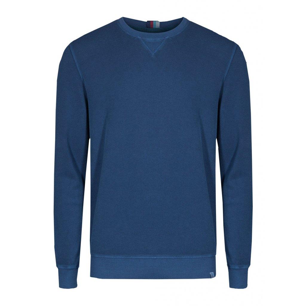 Pánsky modrý pulóver do O COLOURS&SONS