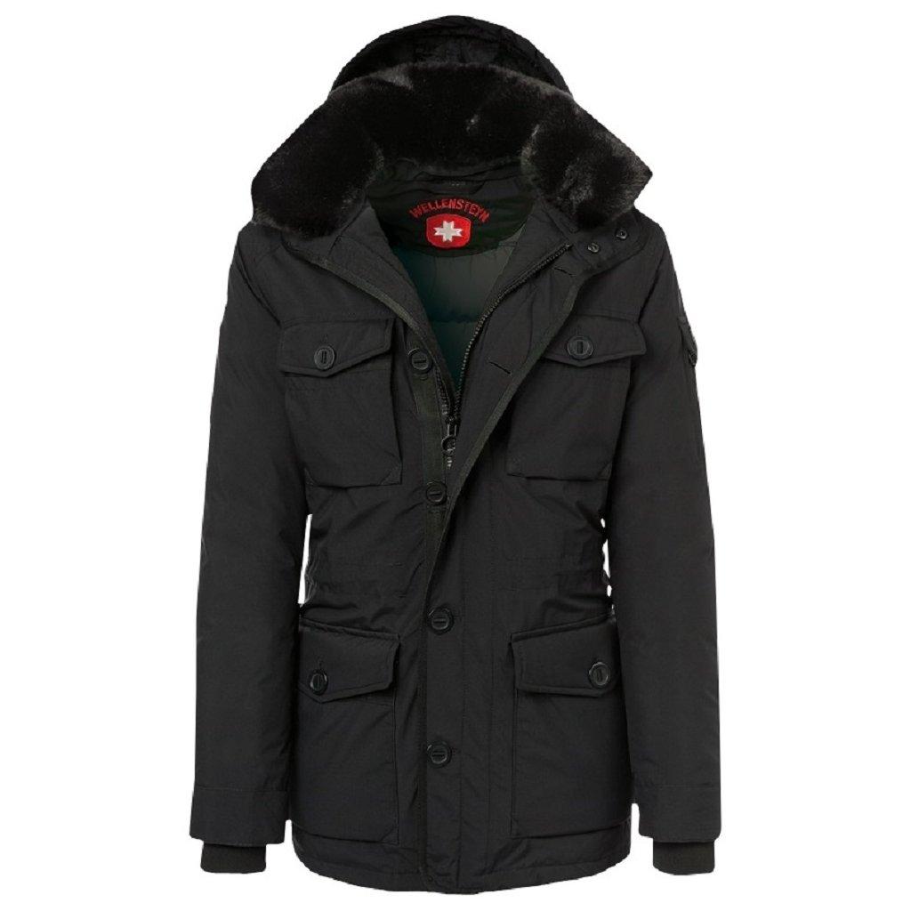 WELLENSTEYN Discovery pánska čierna funkčná zimná bunda