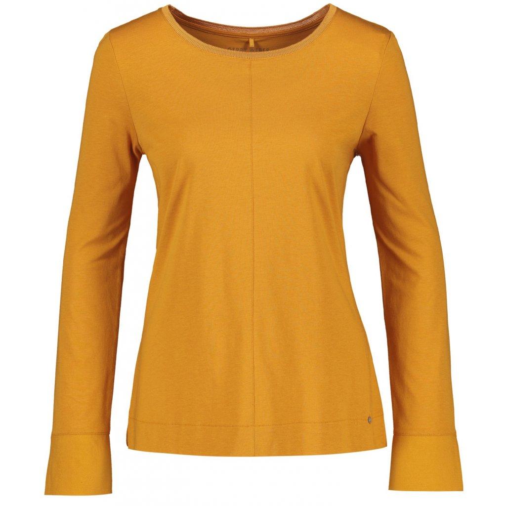 Žlté dámske tričko GERRY WEBER dlhý rukáv