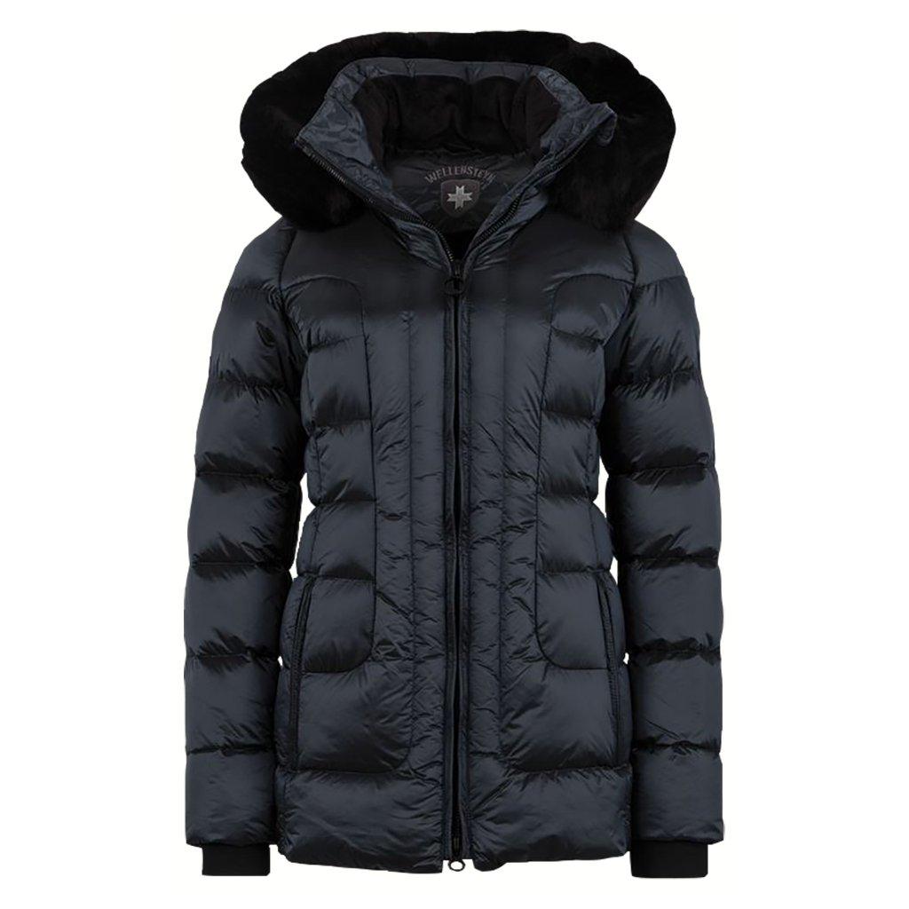 WELLENSTEYN Belvitesse Medium dámska ľahká modrá zimná bunda