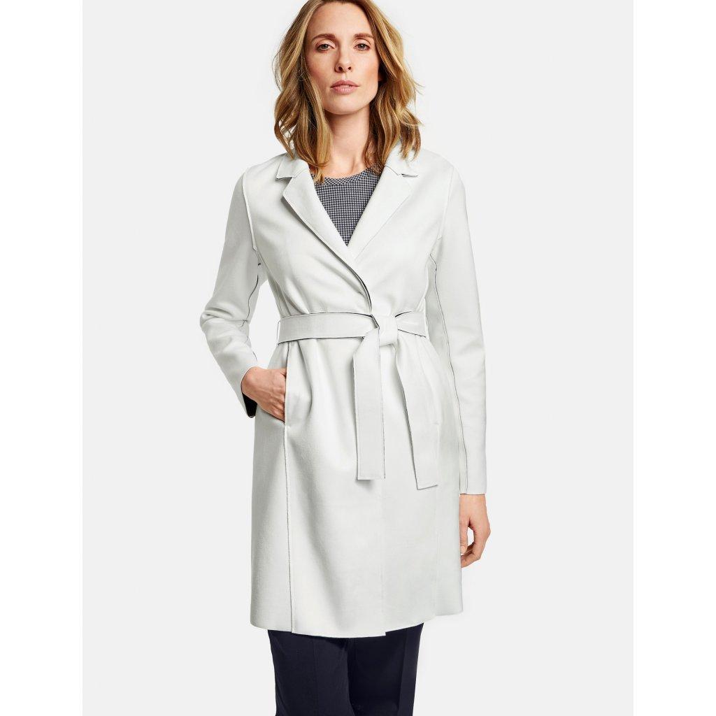Dámsky biely ľahký plášť GERRY WEBER