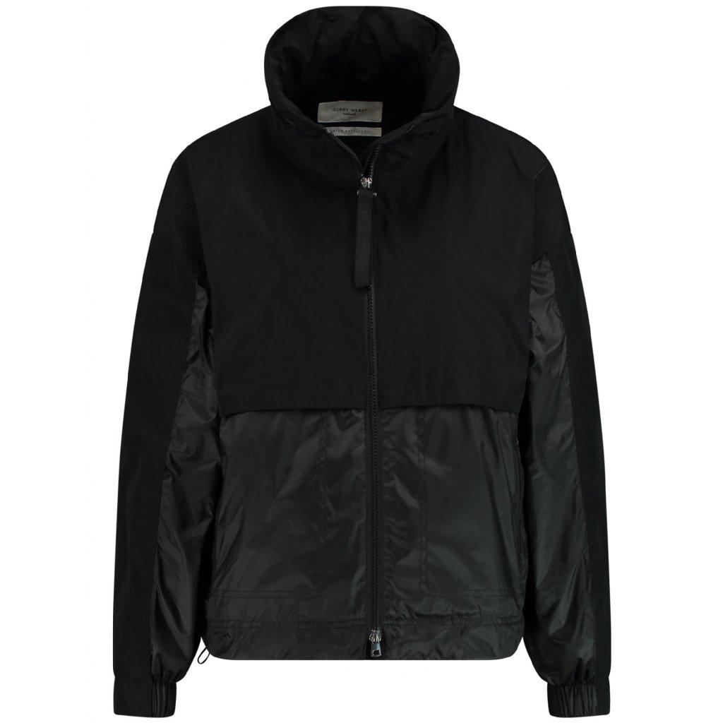 Dámska čierna prechodná bunda GERRY WEBER