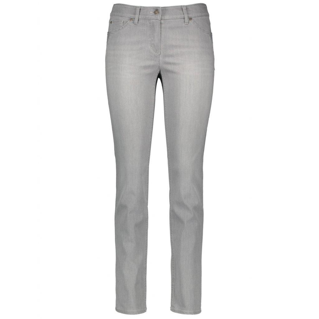 Dámske sivé džínsy GERRY WEBER, Best4me skinny