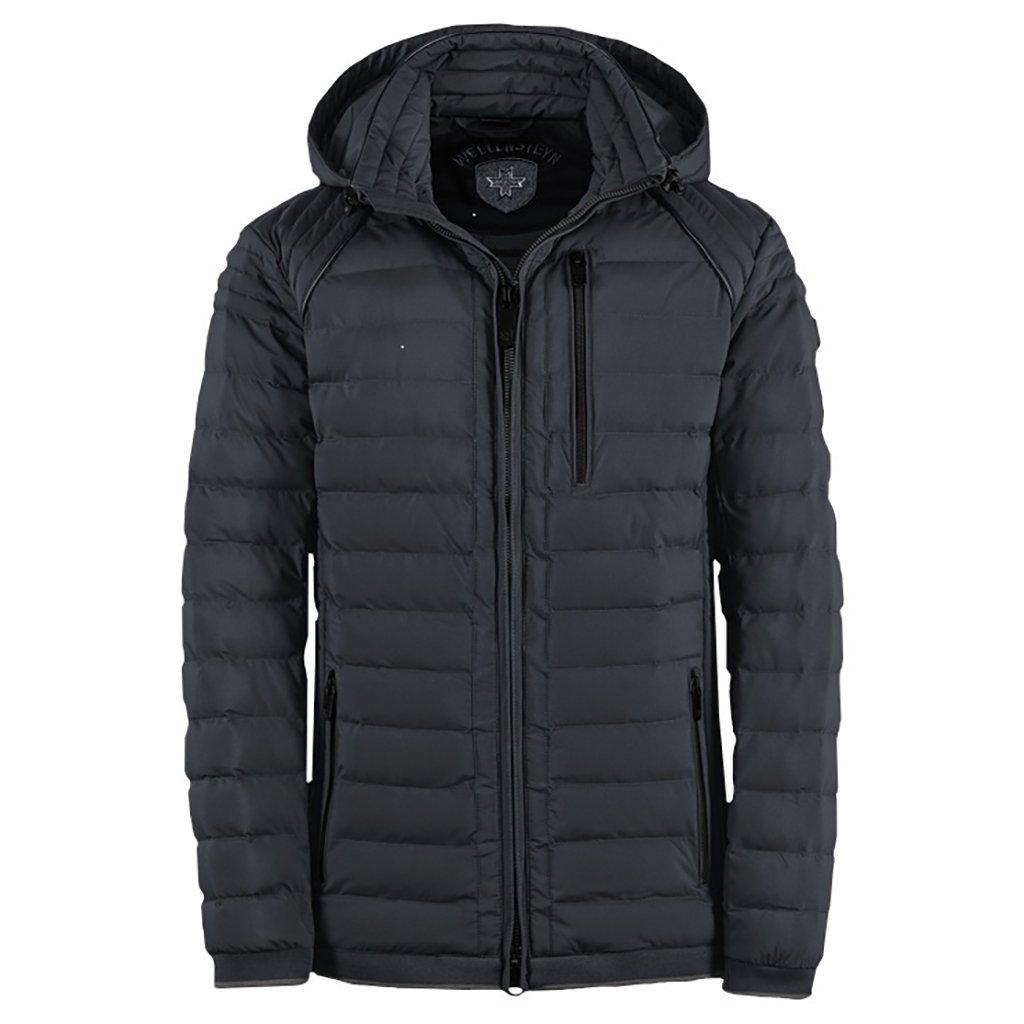 WELLENSTEYN Mol Men Hood ľahká prechodná pánska bunda s kapucňou nadmerná veľkosť