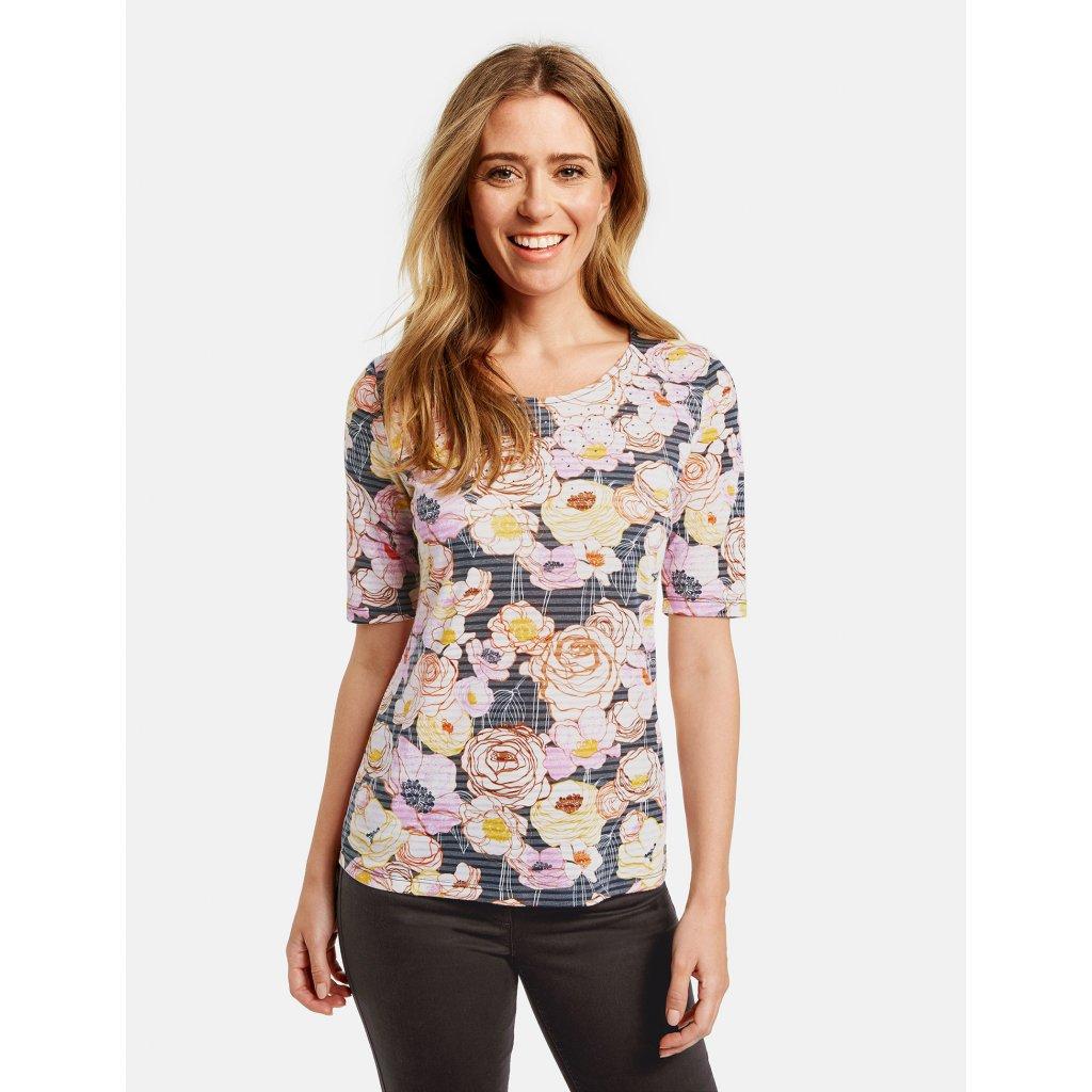 Dámske tričko kvetinové GERRY WEBER