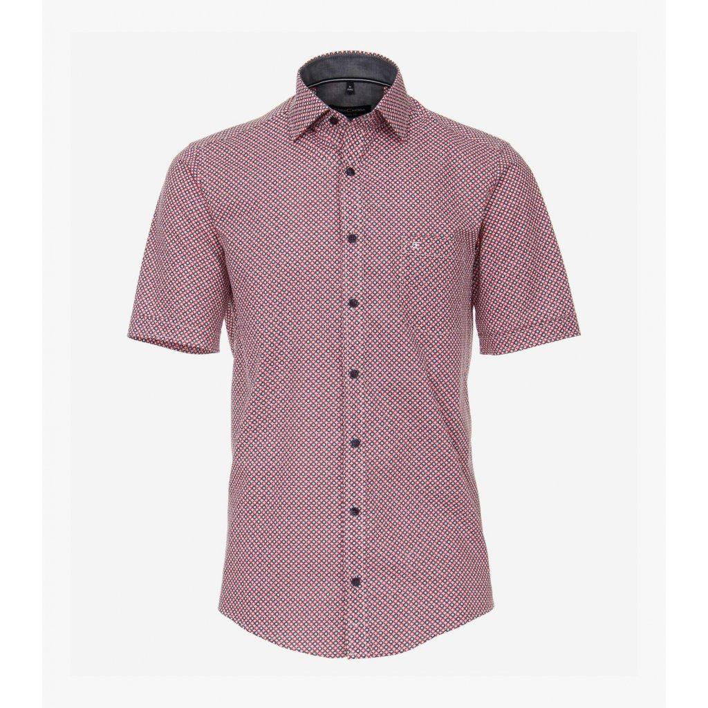 Pánska bavlnená casual košeľa CASA MODA, rovný strih