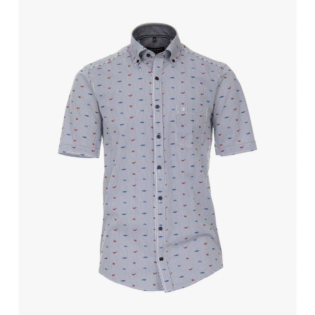 Pánska casual košeľa s krátkym rukávom CASA MODA