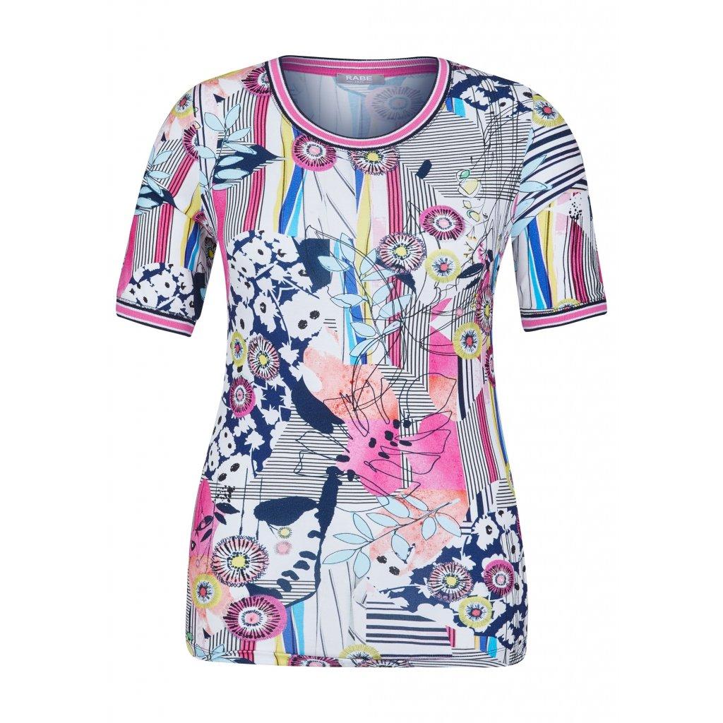Pestré letné dámske tričko RABE
