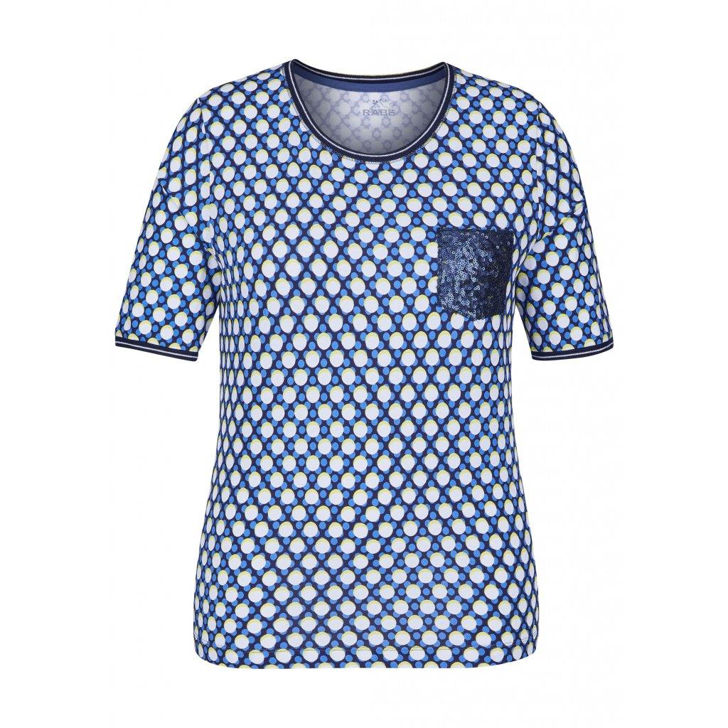 Bodkované tričko s flitrami RABE