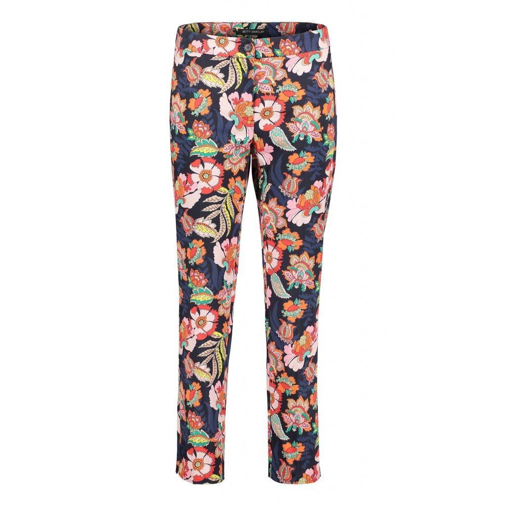Letné kvetované 7/8 nohavice BETTY BARCLAY
