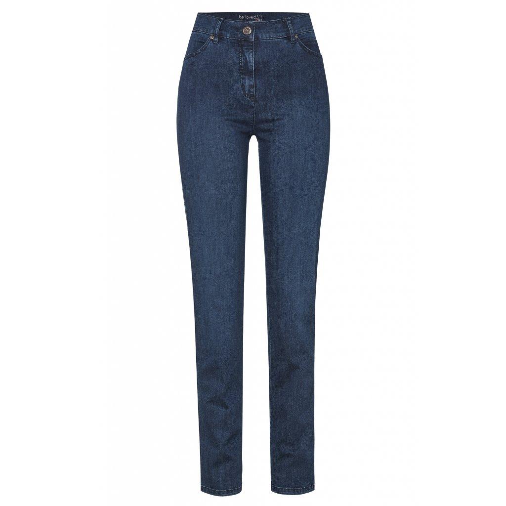Dámske modré elastické džínsy Be Loved TONI DRESS