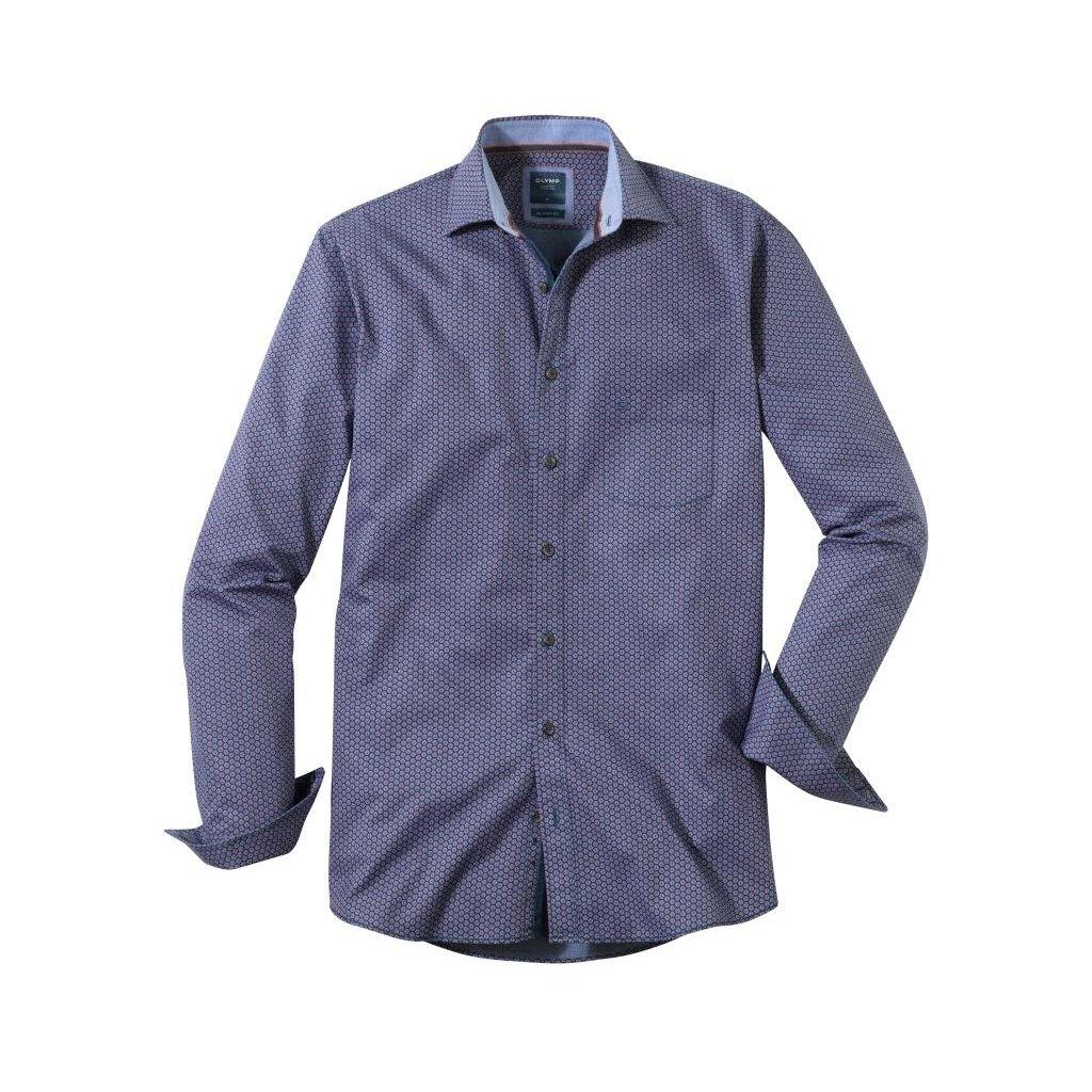 Pánska bavlnená casual košeľa OLYMP, modern fit, 3XL