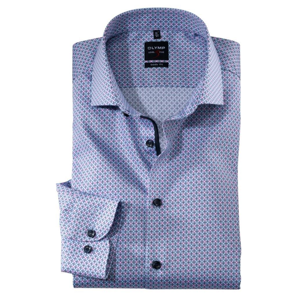 Pánska moderná košeľa OLYMP, body fit