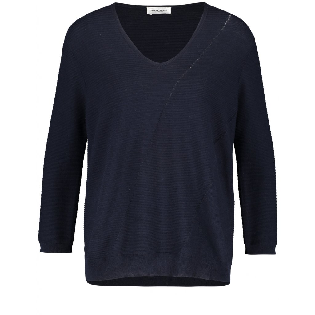 Dámsky modrý pulóver GERRY WEBER