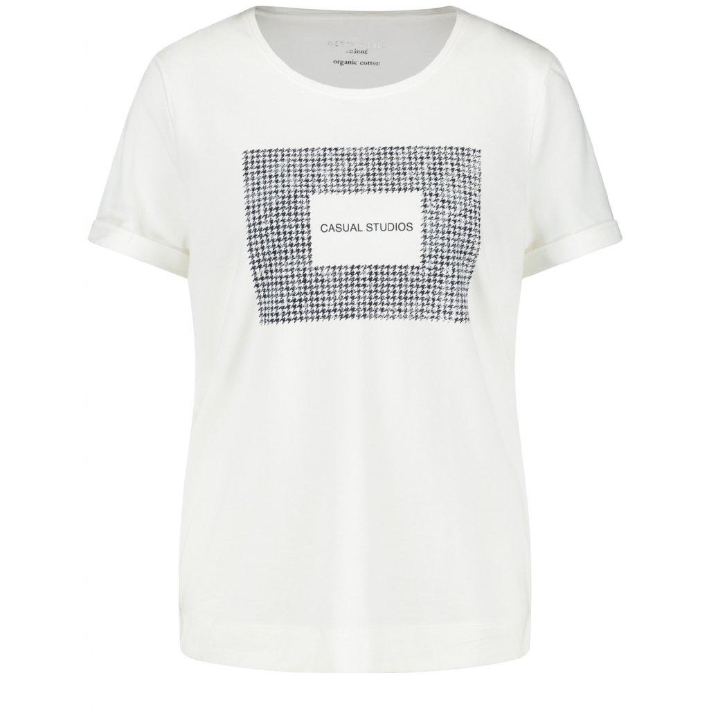 Dámske biele tričko GERRY WEBER