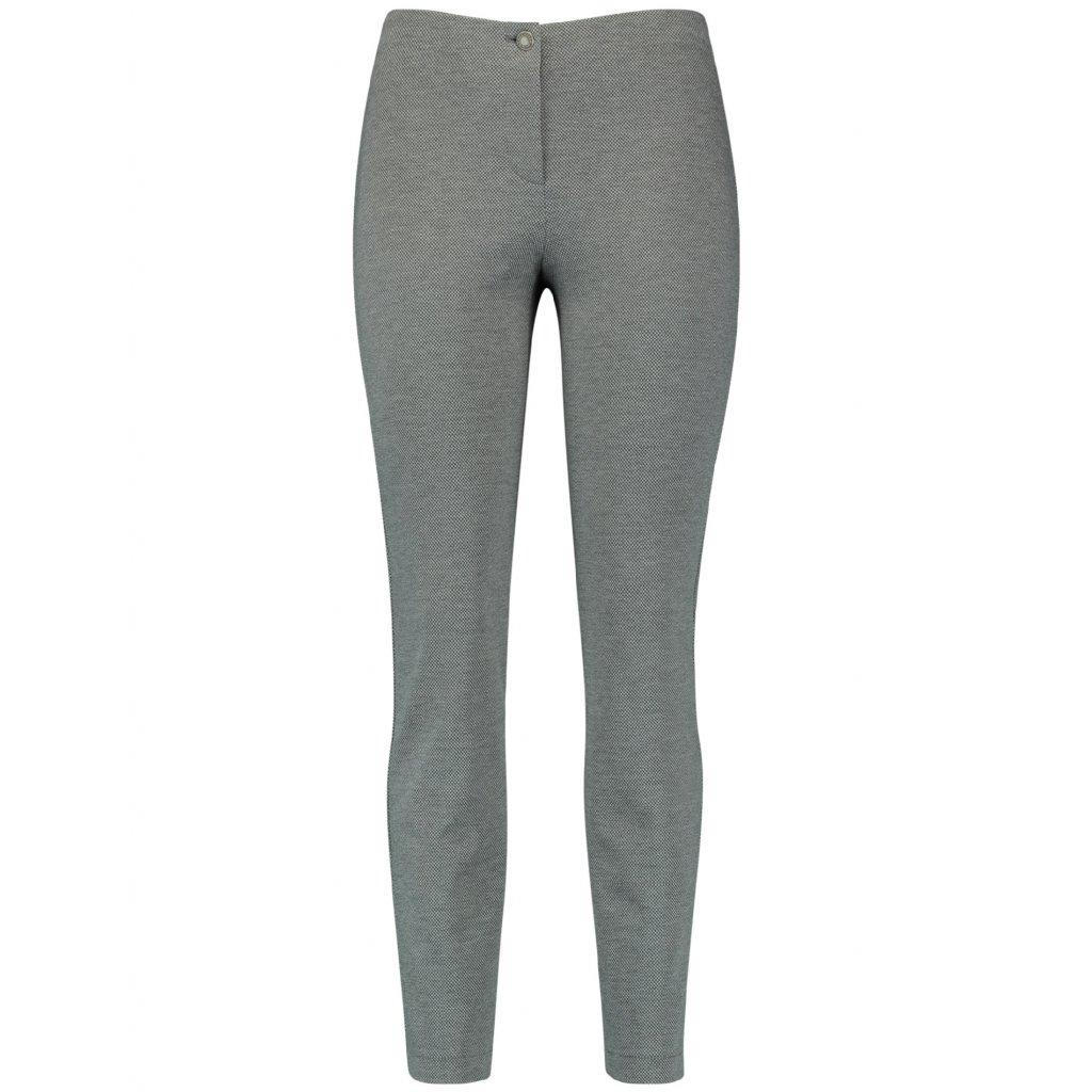 Dámske sivé elegantné nohavice GERRY WEBER