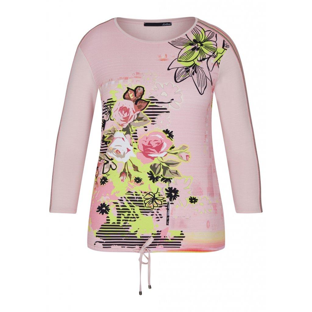 Kvetovaný pulóver LECOMTE