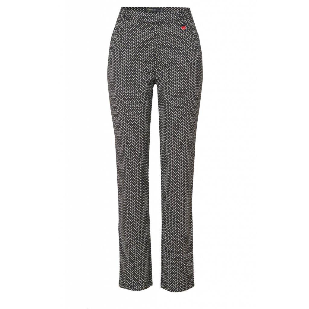 Pohodlné nohavice s jemným vzorom Alice  TONI