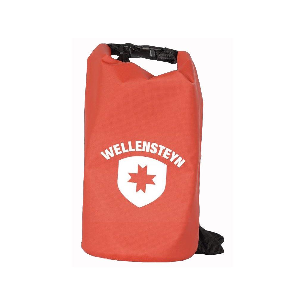 Vodeodolný červený vak WELLENSTEYN, 5 litrový