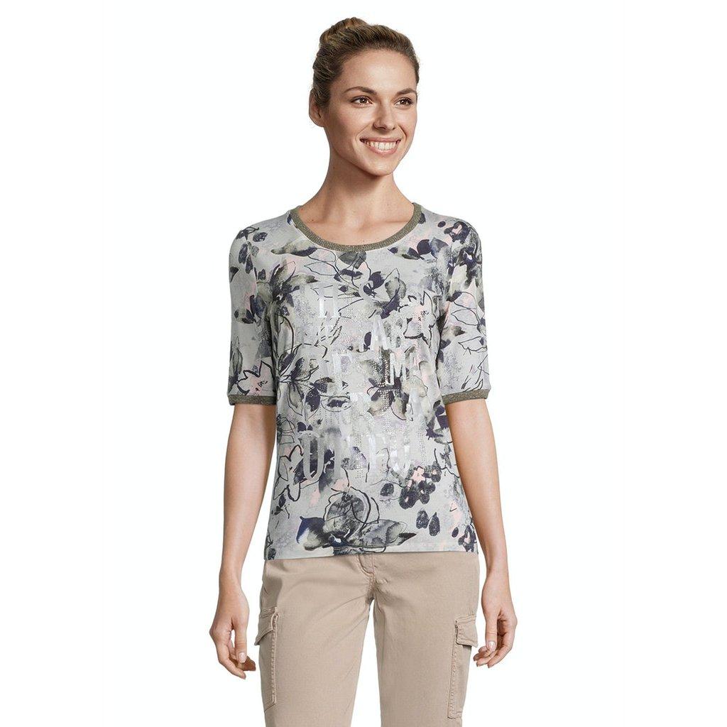 Dámske kvetované tričko BETTY BARCLAY