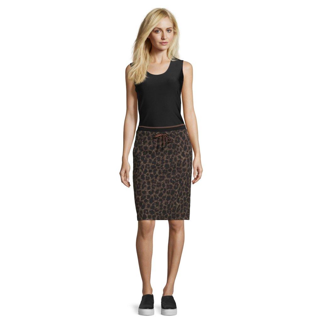 Dámska sukňa s elastickým pásom so šnúrkou BETTY BARCLAY