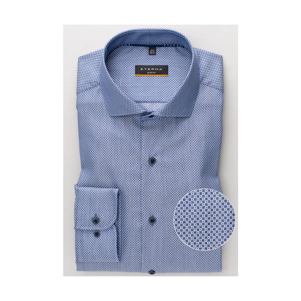 Pánska elegantná bavlnená košeľa ETERNA, slim fit