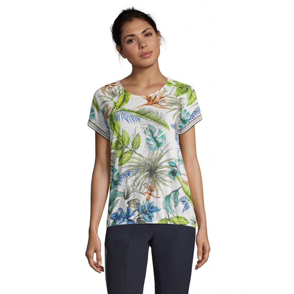 Dámske kvetované tričko s krátkym rukávom BETTY BARCLAY