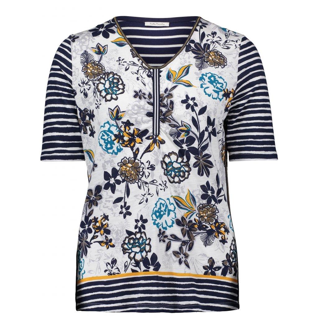 Dámske vzorované tričko BETTY BARCLAY krátky rukáv