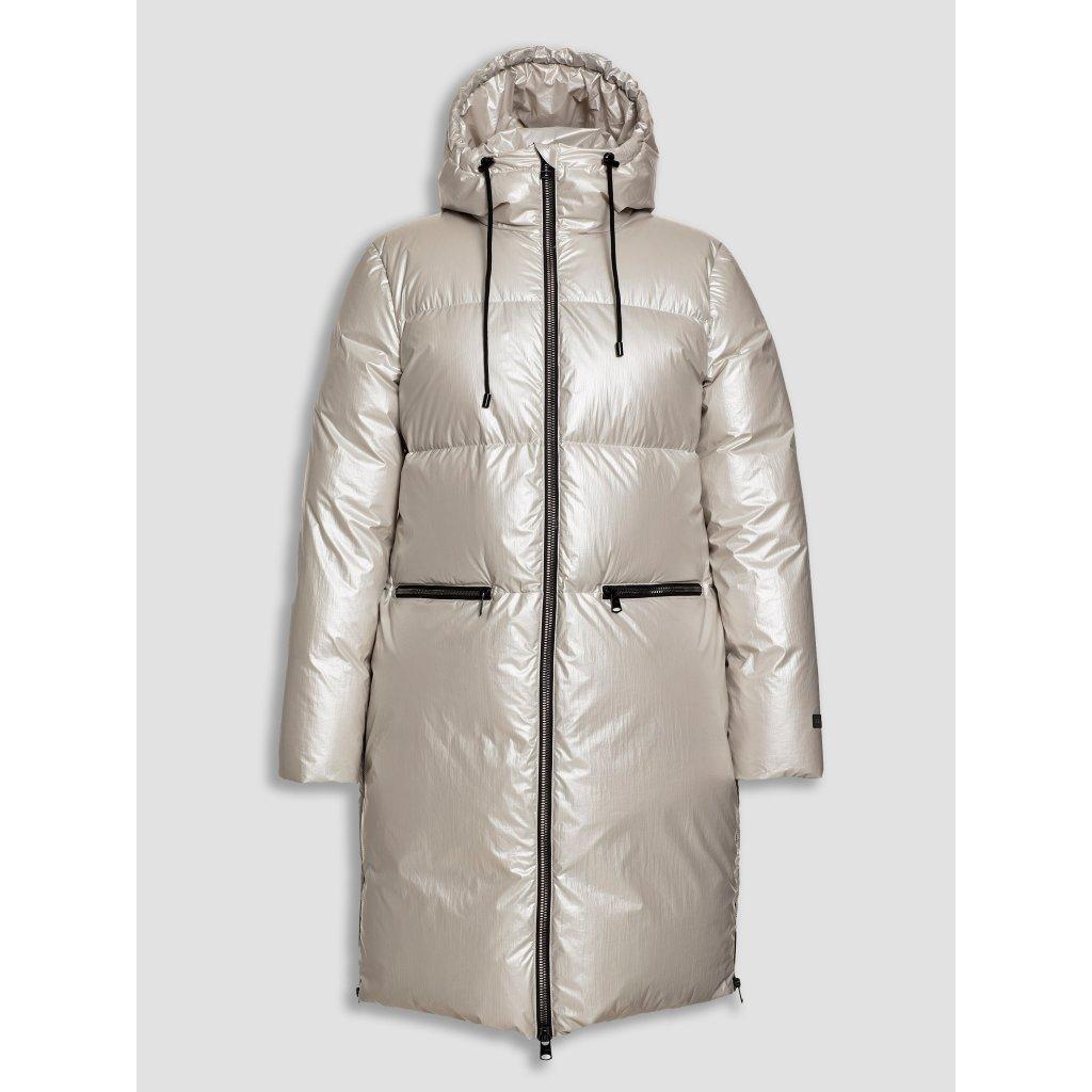 """Dámska páperová """"oversize"""" bunda so zipsami a kapucňou BEAUMONT"""