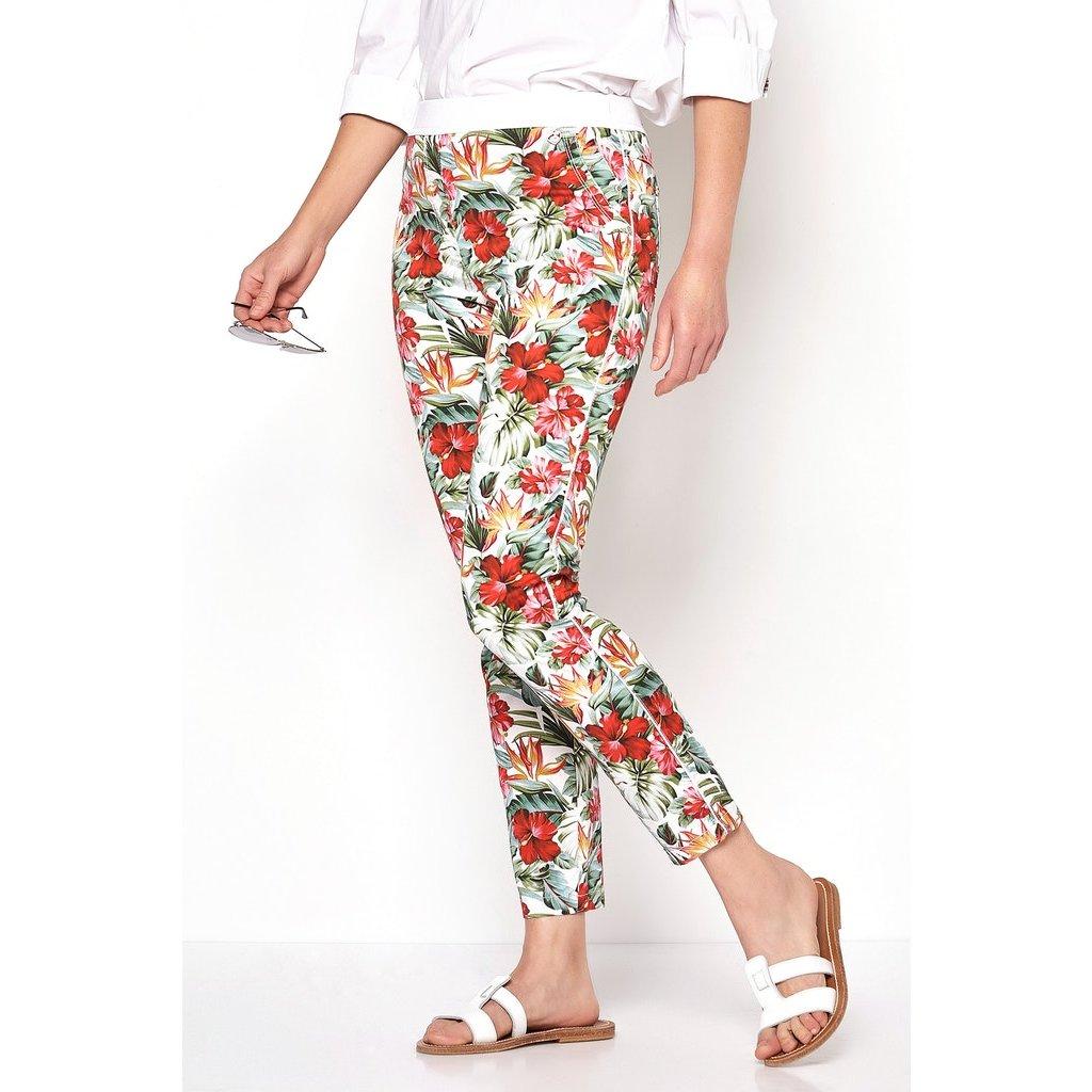 Dámske kvetované letné nohavice TONI DRESS